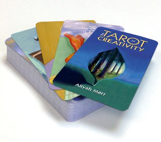 The Tarot of Creativity, a rare, artist-created deck by Aliyah Marr
